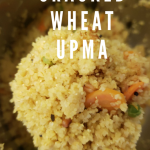 Instantpot Bulgur pilaf|wheat vegetable upma recipe