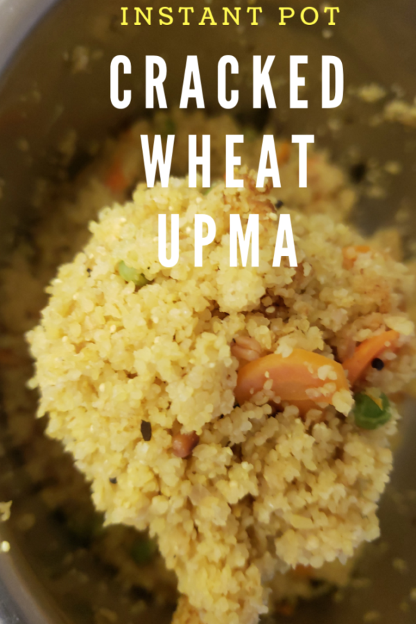 Instantpot Bulgur pilaf|wheat vegetable upma recipe