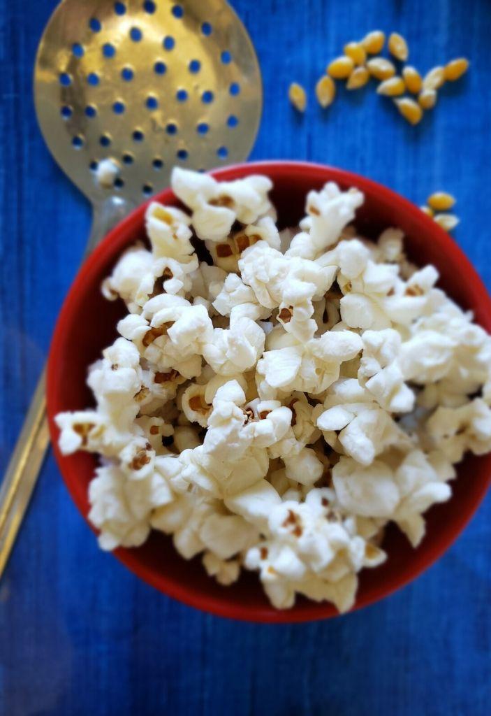 vegan popcorn in instant pot