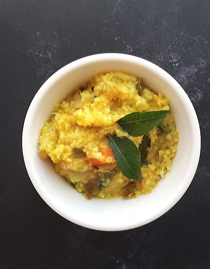 instant pot kitchari is a wholesome one pot meal suitable for all ages.