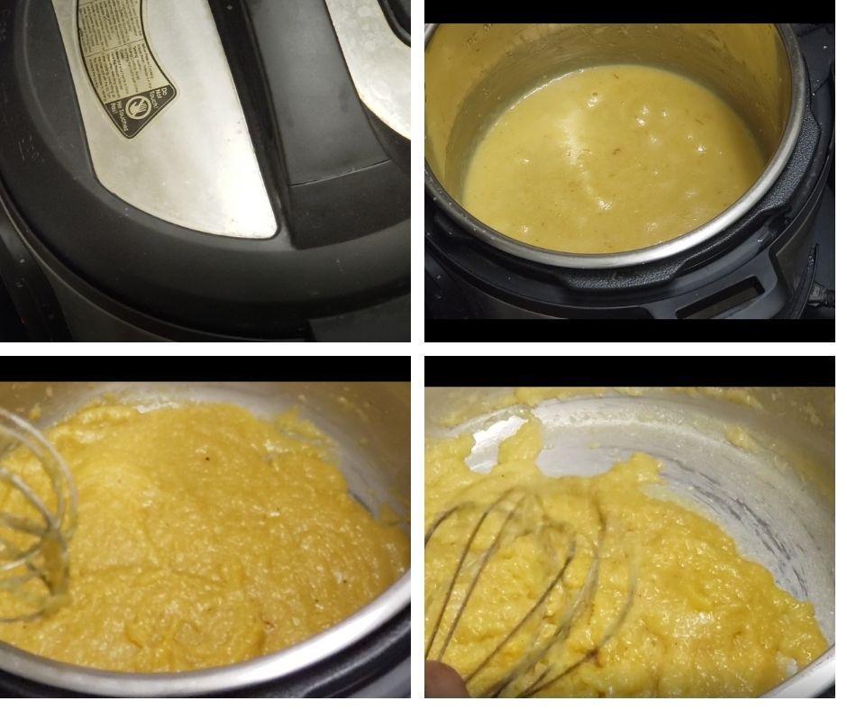 badamhalwa with almond flour