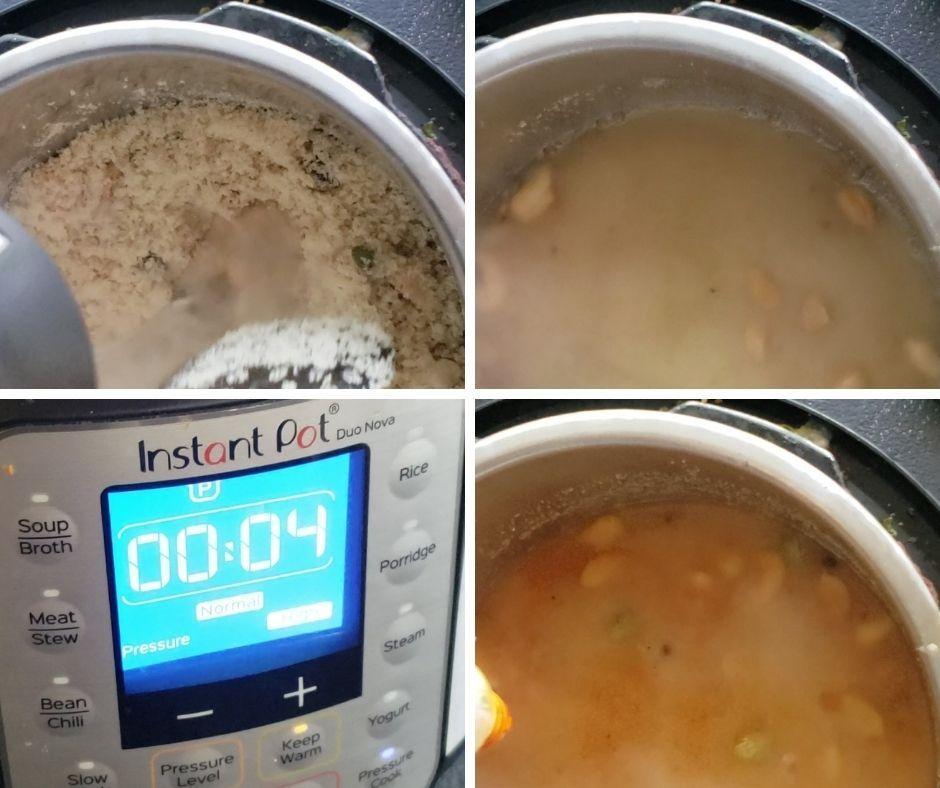 Instant pot kesari bath
