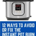 instant pot burn notice