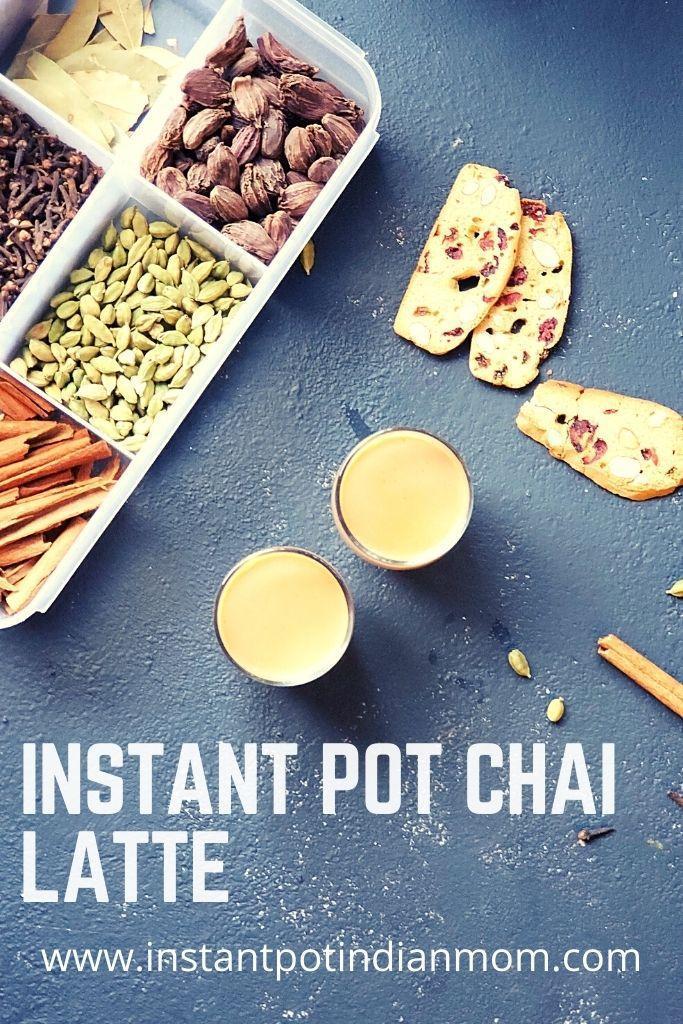 instant pot tea