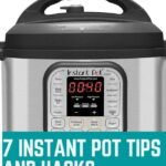 instant pot tips and hacks