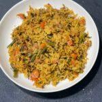 vegetable biryani instant pot
